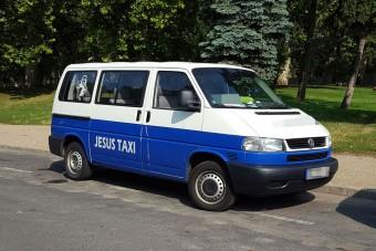 Jézus taxit küldött Budapestre