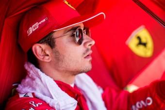 F1: Leclerc nehéz szívvel megy Japánba