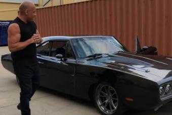 Ámulatba ejtő ajándékot kapott születésnapjára Vin Diesel