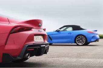 Meglepő lesz, mekkora a különbség a Toyota Supra és a BMW Z4 között