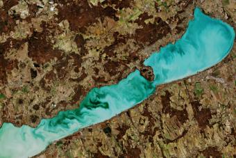 Zseniális fotó készült a Balatonról az űrből