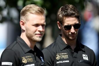 F1: Nagy bajban a Haas-pilóták