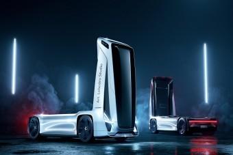 Ilyen lehet a jövő kamionja az oroszok szerint