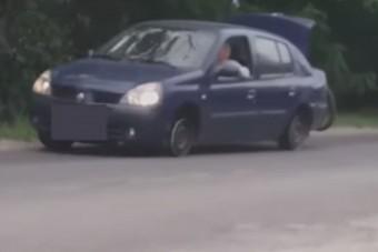 A hazai autós szürrealizmus babérkoszorúját vették videóra Pócsmegyeren
