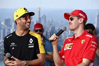 F1: Ricciardo úgy érzi, ott van a Ferrari listáján