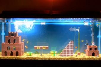 Vajon a halak végigmennek a Super Mario első pályáján?