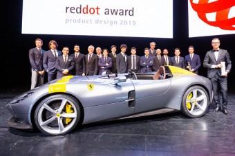 Komoly elismerést zsebelt be a Ferrari