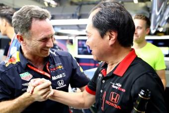 F1: Ezért késte le a Honda-főnök a himnuszt