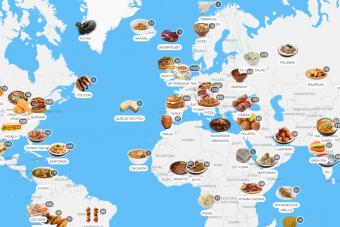 Ez a térkép megmondja, mit egyél nyaralás alatt