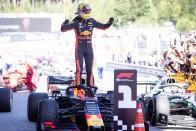 F1: Magyarországon bulizott Verstappen 1