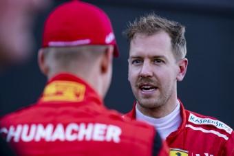 Vettel: Ne az apjához hasonlítsuk a kis Schumit!
