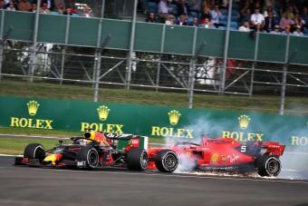 Döbbenet: Vettel a futam után is karambolozott