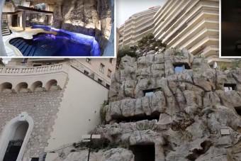 Luxusvillát faragtak egy sziklába