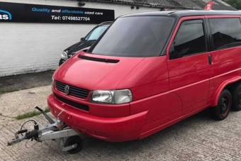 Lakókocsit csináltak ebből a Volkswagen kisbuszból