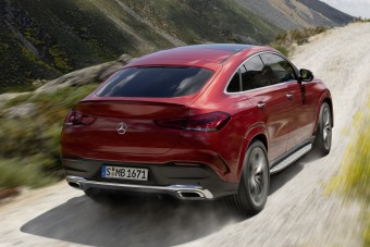 Videón az új generációs Mercedes GLE Coupé