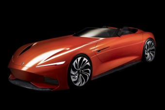Elektromos luxus-roadstert álmodott a Karma
