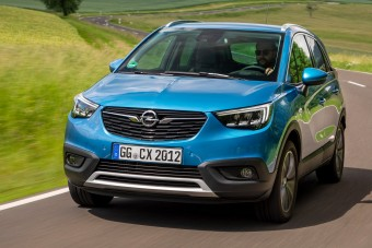 Új csúcs-hajtáslánc az Opel Crossland X-ben