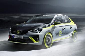 Elektromos raliautó az Opeltől