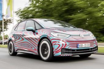 Megnyitja az elektromos csapot a Volkswagen