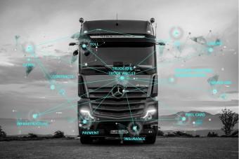 Fizetni tanítja a teherautókat a Daimler