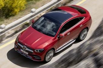 Megérkezett a Mercedes nagy terepkupéja
