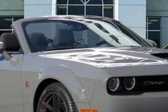 Garanciával kínál kabrióvá alakított Dodge Challengereket egy merész kereskedő