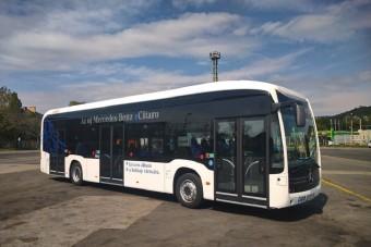 Budapesten tesztelik a Mercedes-Benz villanybuszát