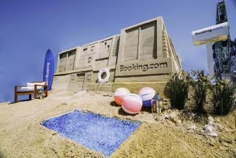 Szívesen eltöltenénk egy hetet ebben a homokvárban