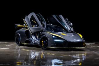 Itt a bizonyíték, hogy nem kell szín a McLaren Sennának