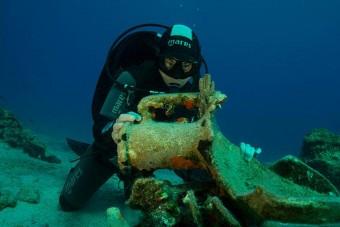 Kolosszális dolgot találtak az Égei-tengerben