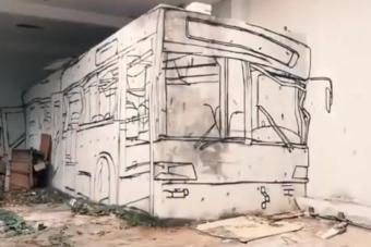 Végre videón is láthatjuk, hogyan készült a közelmúlt legnépszerűbb falfestése