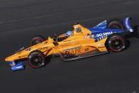 Bebetonozta magát az IndyCarba a McLaren 1