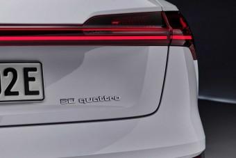 Csökkentett hatótávval is megérkezett a villanyos Audi