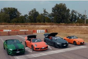 Van az a verseny, ahol a Porsche nem győzheti le a Mazdát