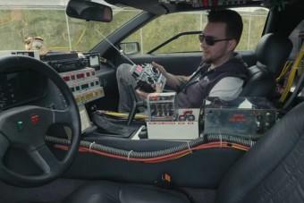 Azonnal akarjuk ezt a távirányítós DeLoreant