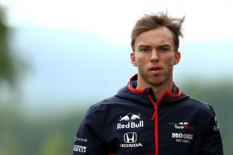 F1: A bejelentés előtt szóltak Gaslynak, hogy lefokozzák