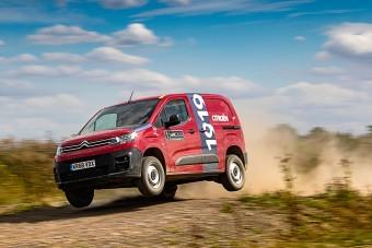 Ralipályán nyúzták a Citroën Berlingot