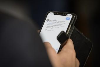 Így még nem sokan használták telefonjukat
