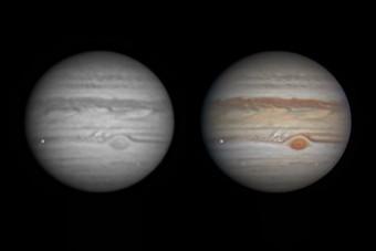 Akkora meteor csapódott a Jupiterbe, hogy még a Földről is látszik