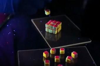 Olyan Rubik-kockát készítettek a tudósok, amilyen még soha nem létezett