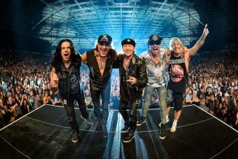 Budapestre jön a Scorpions (x)