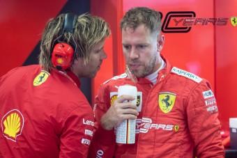 F1: Vettel nem tudja, hol áll a Ferrari