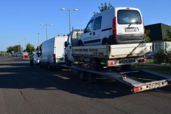 A magyar rendőrök elkezdték szívatni a horrorszerelvényes sofőröket