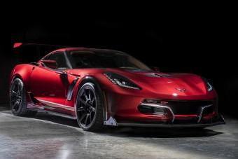 340-nel száguld az elektromos Corvette