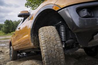 Terepfutóművet kapnak a Ford pickupok