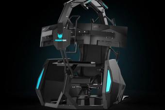 Nincs ma ennél kényelmesebb szék a virtuális lövöldözéshez