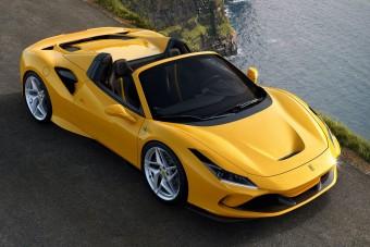 Új V8-as roadster a Ferraritól