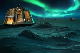 Méregdrága extrém luxushotel nyílik az északi-sarkon