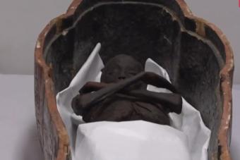 Két 3400 éves szarkofág restaurálása kezdődik Egyiptomban