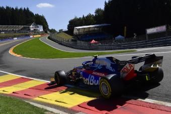 F1: Megható gesztus a lefokozott pilótától